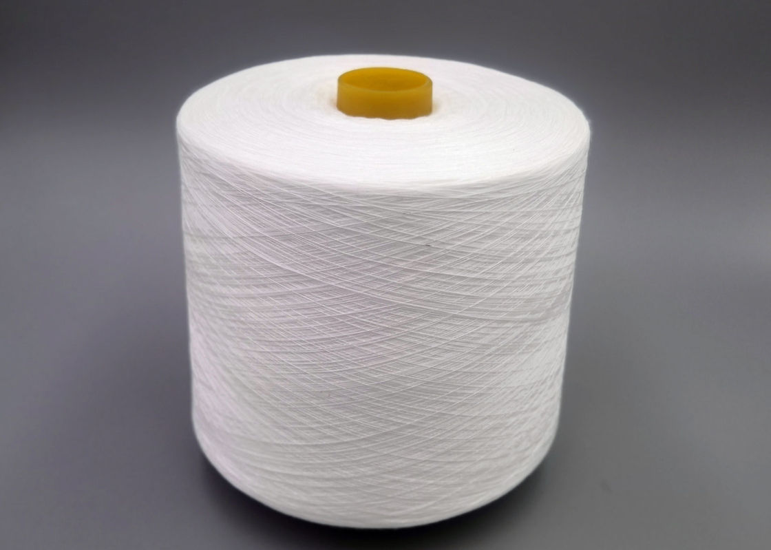 100 Percent Spun Polyester Yarn 20/3 30/2 40/2 50/2 60/2 Raw White Thread